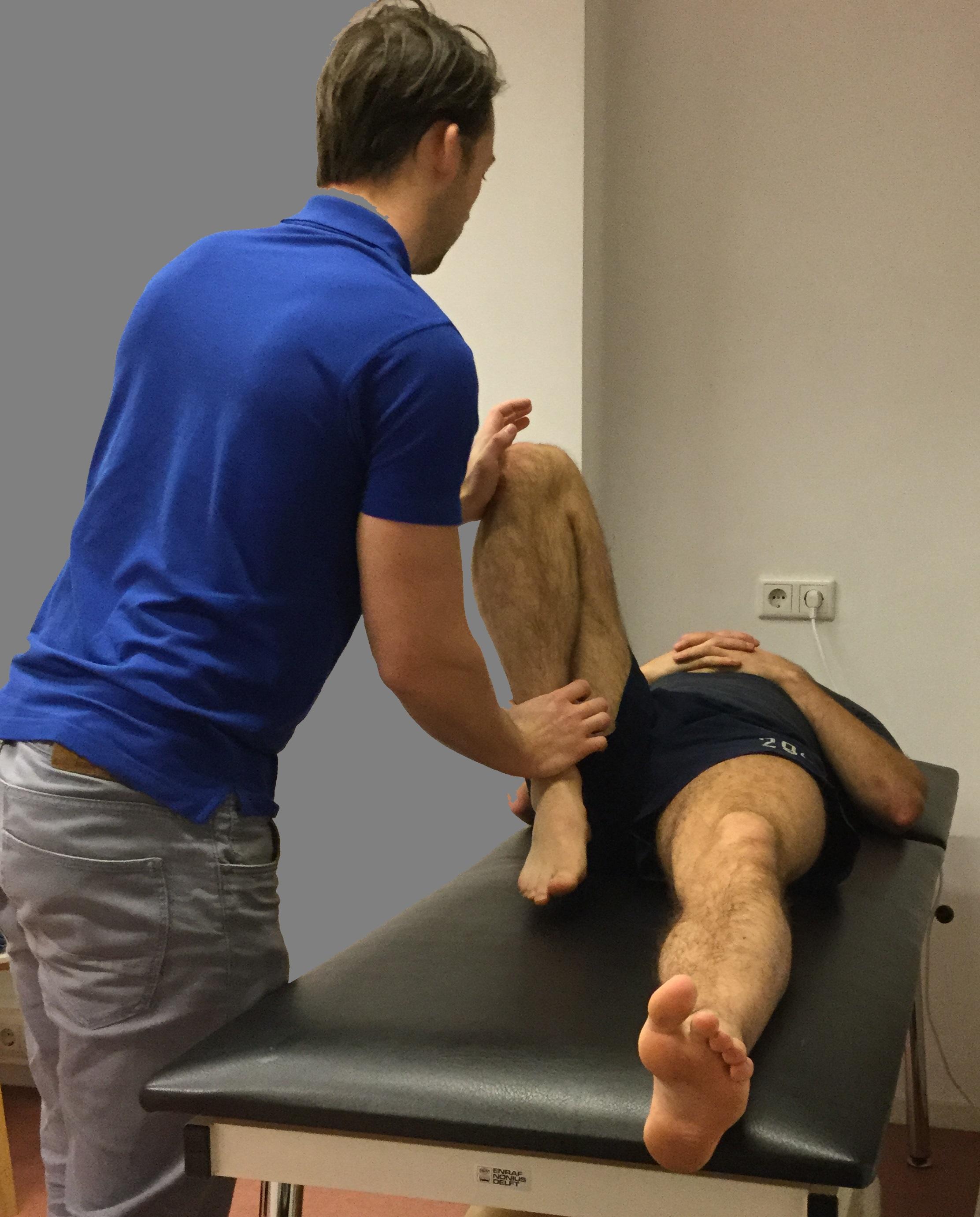 Knie onderzoek podotherapie